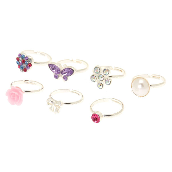 Claire's - club rings - 2