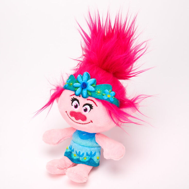 Trolls World Tour Poppy Plush Toy – Pink,