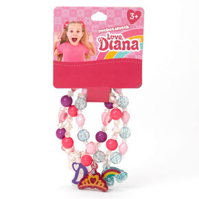 Love, Diana™ Beaded Stretch Bracelets – 3 Pack,