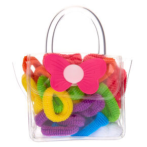 Claire's Club Hair Bobbles & Bag - 38 Pack,