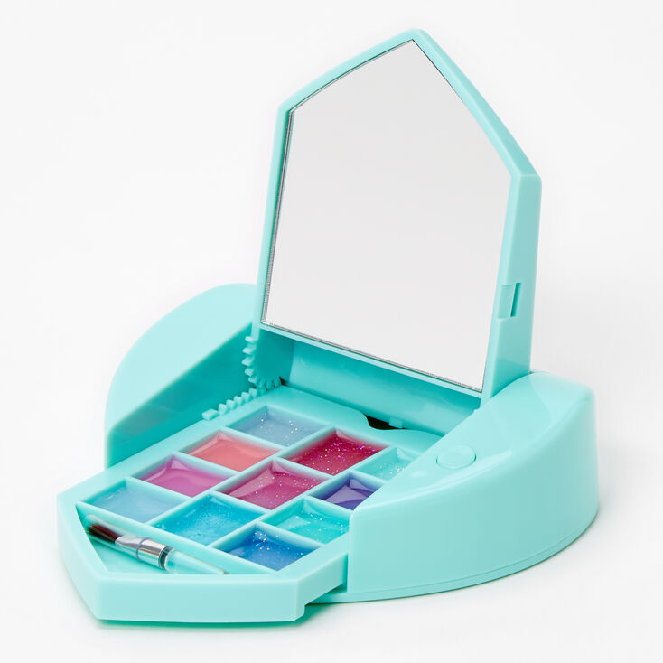 Claire's Club Butterfly Bling Mechanical Lip Gloss Set - Mint,