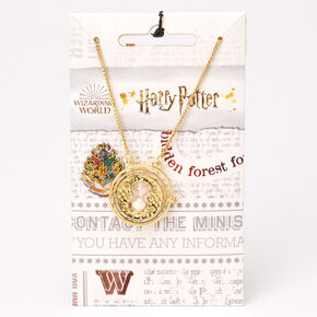 Collier à pendentif retourneur de temps Harry Potter™ - Couleur dorée,