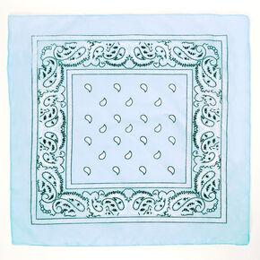 Paisley Bandana Headwrap - Mint,
