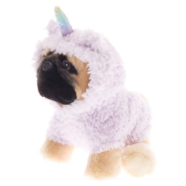 Doug the Pug ™ Medium Llamacorn Soft Toy - Cream,