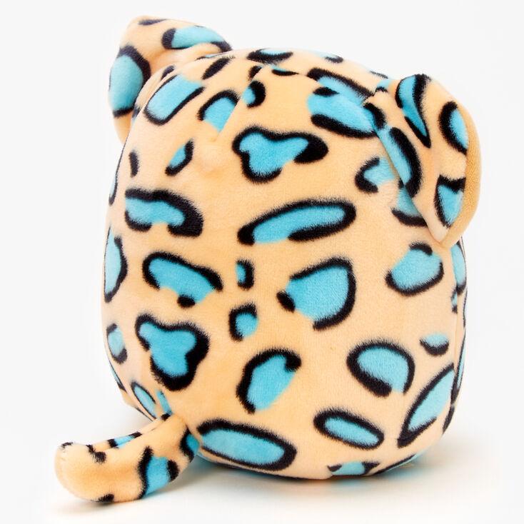 Peluche léopard 20cm Squishmallows™ - Bleu sarcelle,