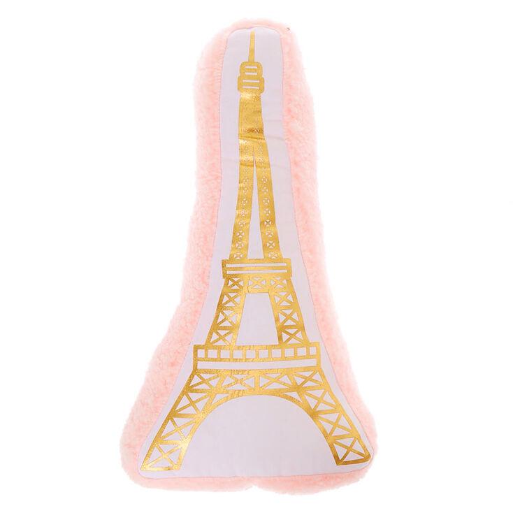 Eiffel Tower Pillow - Pink,