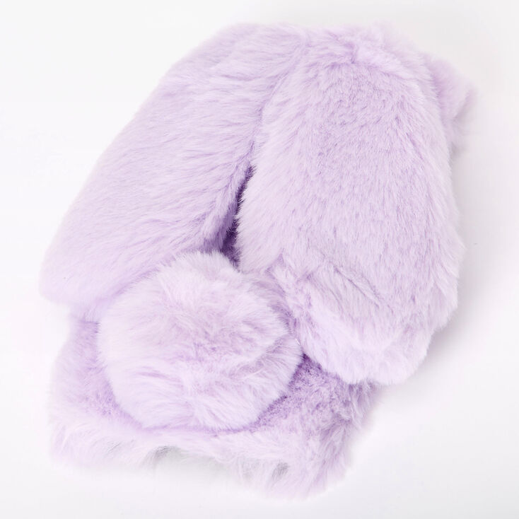 Purple Fur Bunny Phone Case - Fits iPhone 6/7/8/SE,