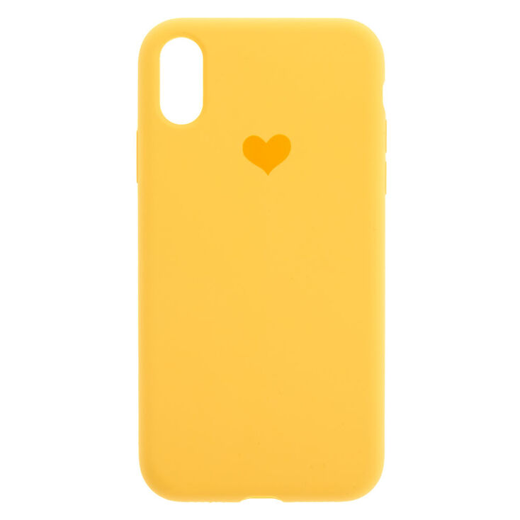 Yellow Heart Phone Case - Fits iPhone® XR,