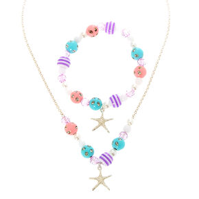 Claire's Club Starfish Jewelry Set - 2 Pack,