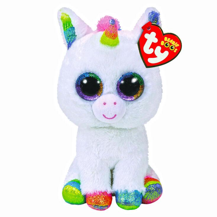 Ty Beanie Boo Medium Pixy The Unicorn Plush Toy  3b7ebf090162