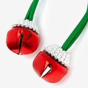 Jingle Bell Hair Ties - 2 Pack,
