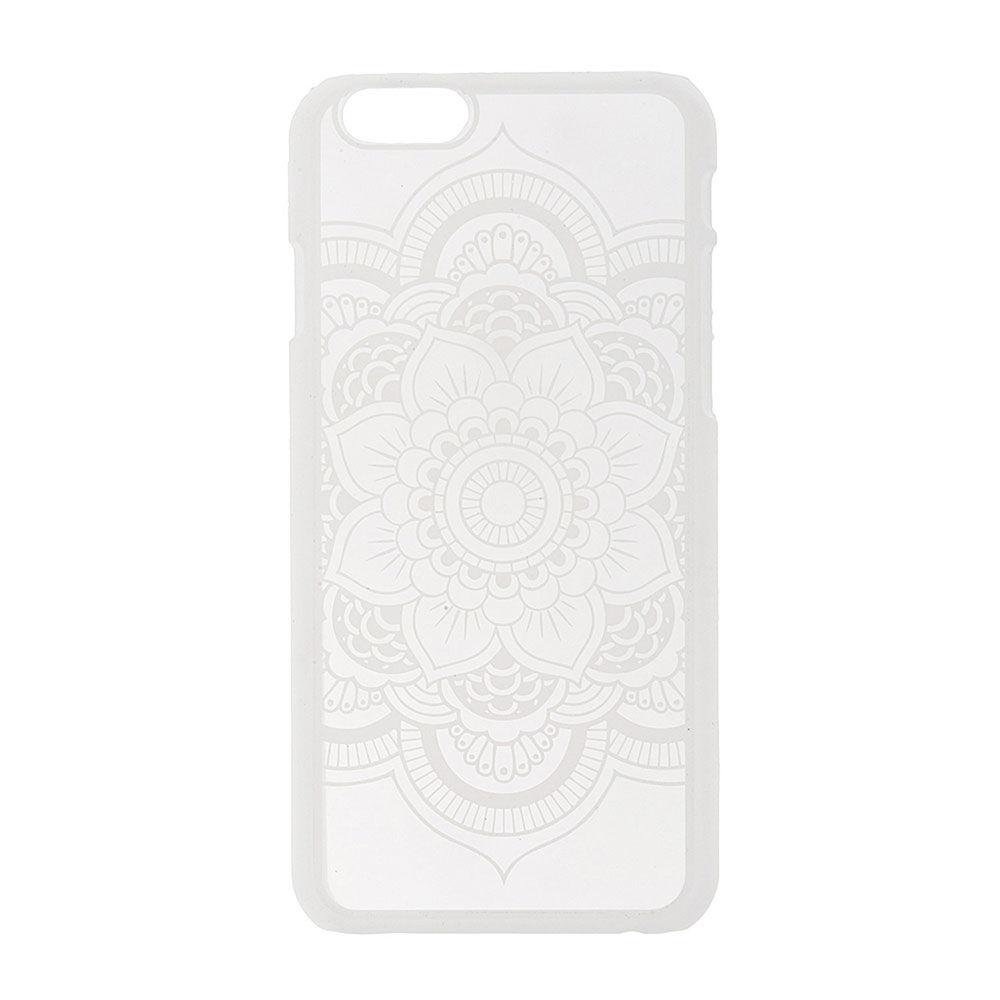 coque iphone 6 mandala blanc