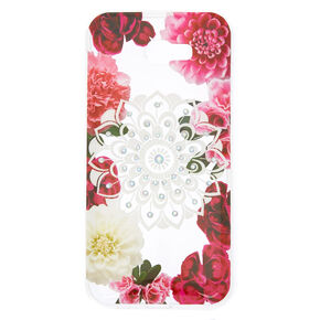 Floral Bling Mandala Phone Case - Fits Samsung Galaxy A7,