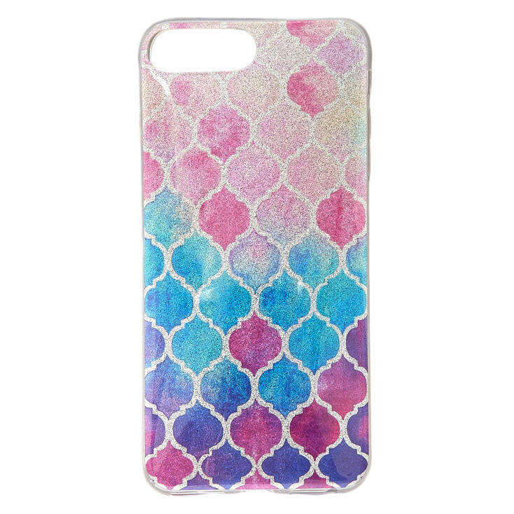 Watercolor Moroccan Phone Case - Fits iPhone 6/7/8 Plus,