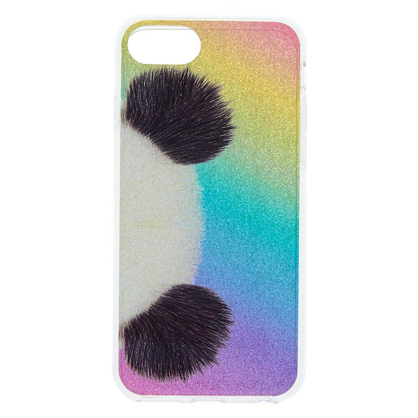 Claire's - glitter panda phone case - 1