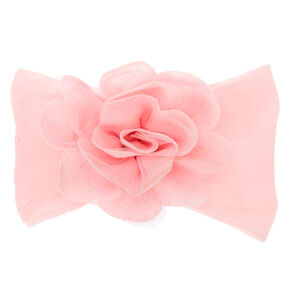 Claire's Club Floral Headwrap - Pink,