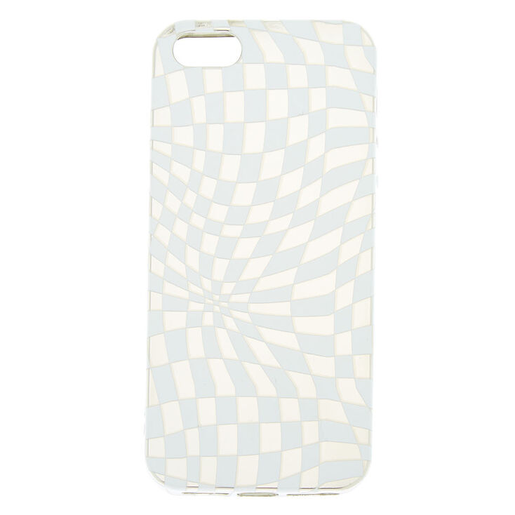 new product b51b9 25a4c Chequered Illusion Phone Case - Fits iPhone 5/5S/SE