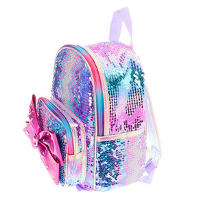 Jojo siwa™ Reversible Sequins Small Backpack – Pink,