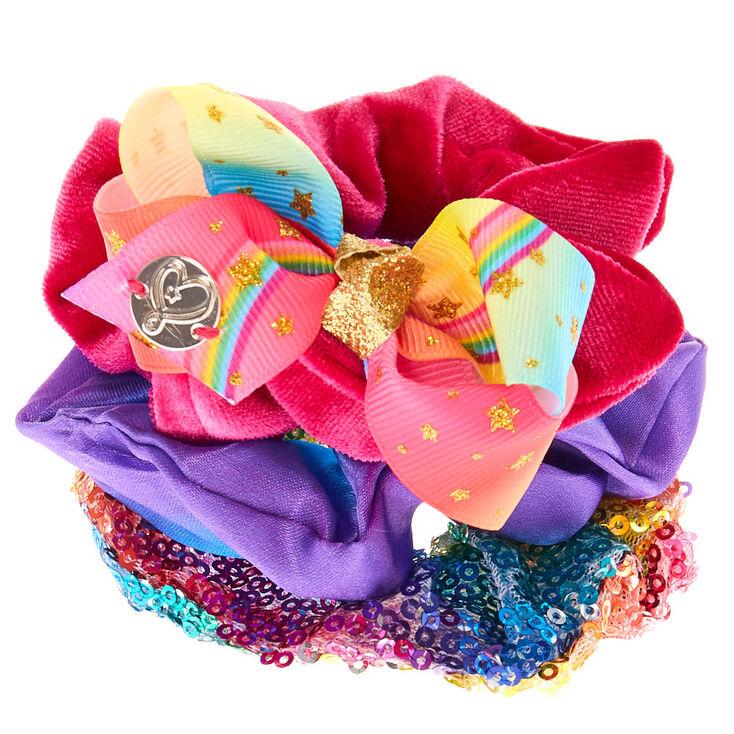 JoJo Siwa Hair Scrunchies - 3 Pack,