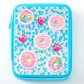 I Donut Care Bling Makeup Set - Turquoise,