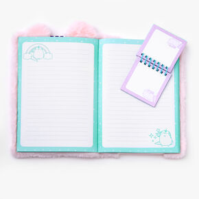 Pusheen® Plush Pocket Notebook – Pink,