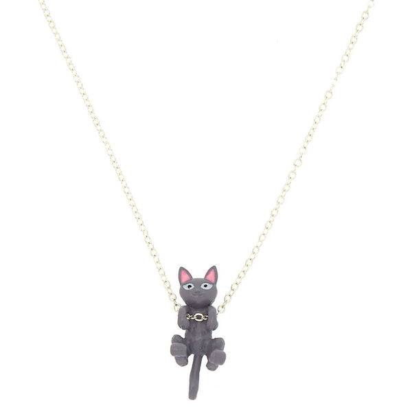 Claire's - hanging cat pendant necklace - 1