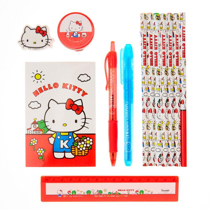Ensemble de papeterie complet Hello Kitty,