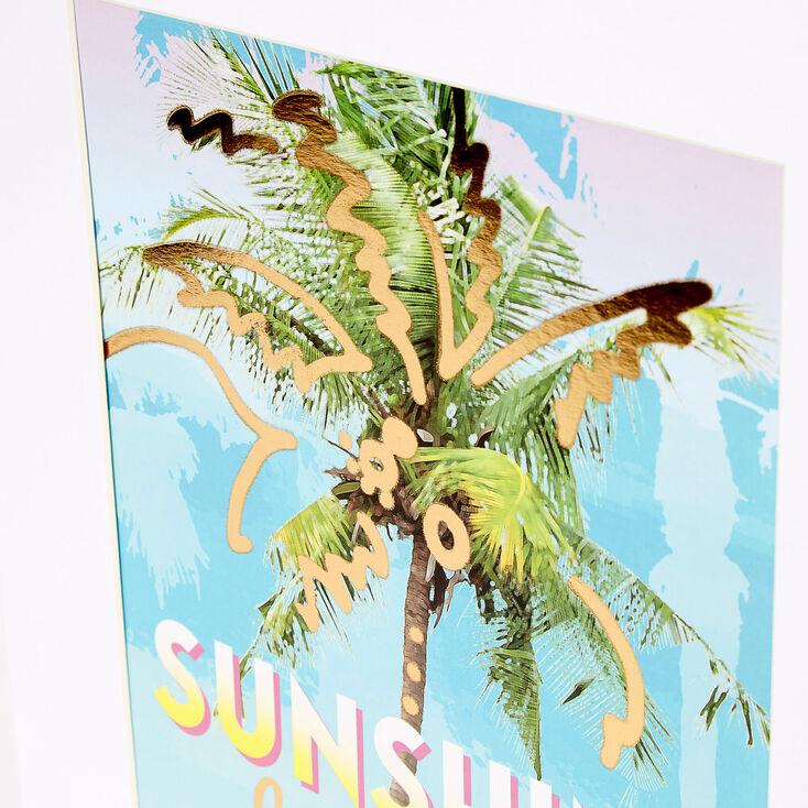 Sunshine & Good Feelings Wall Art,