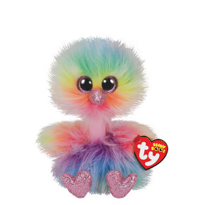2259701465b Ty Beanie Boo Small Asha the Ostrich Soft Toy