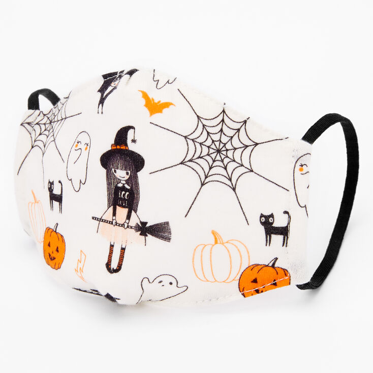 Cotton Halloween Icon Face Mask - Child Small,