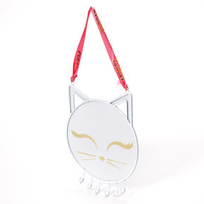 Purrty Things Cat Jewelry Holder - White,