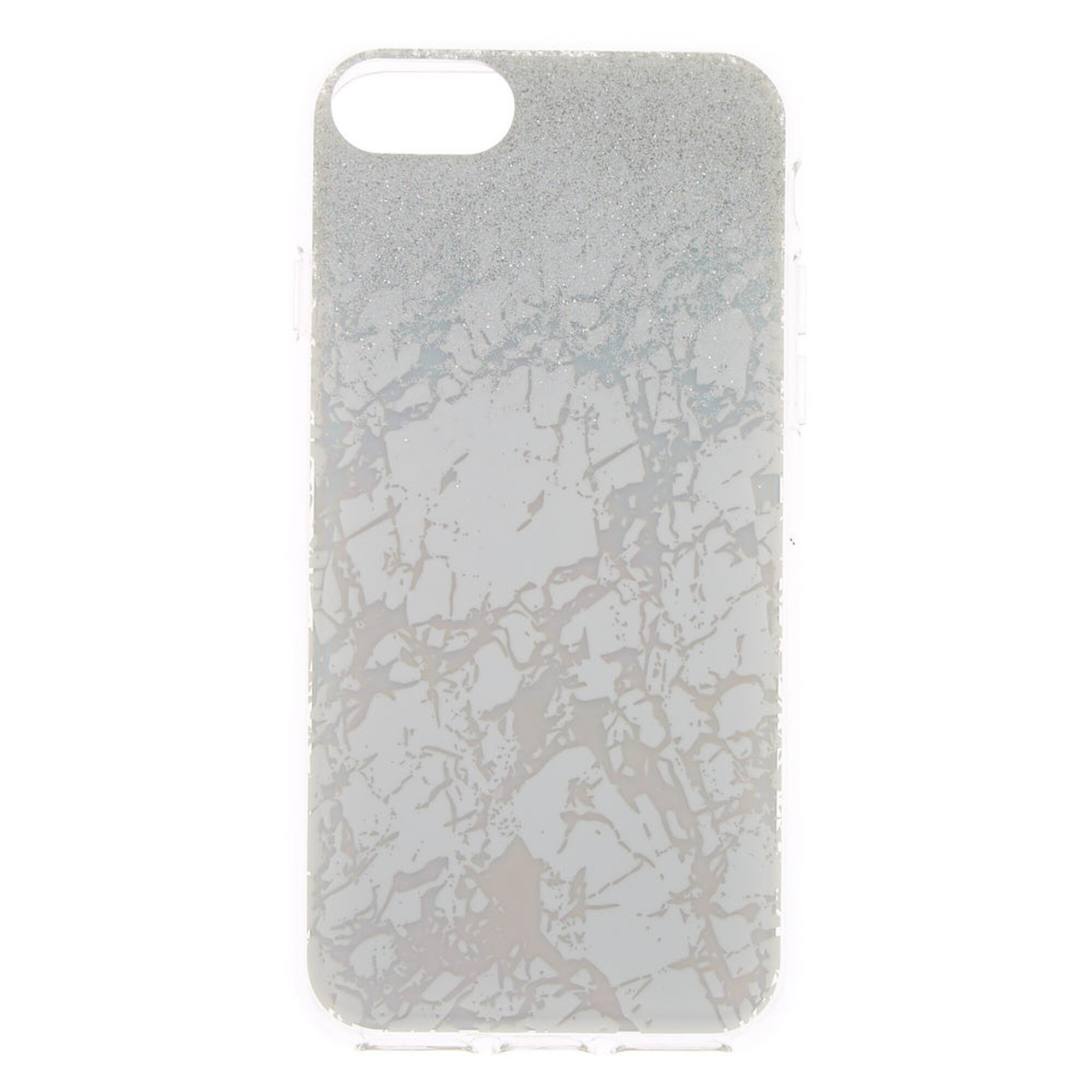 competitive price 416a9 880f2 Holographic Glitter Marble Phone Case - Fits iPhone 6/7/8