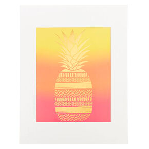 Pineapple Print Wall Art,