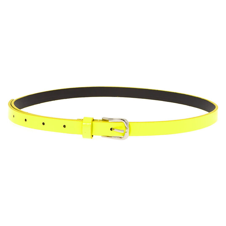 Neon Fashion Belt - Yellow,