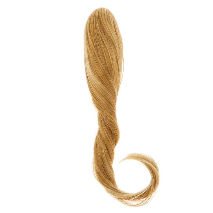 Extensions ultra longues en cheveux synthétiques blonds ultra avec pince,