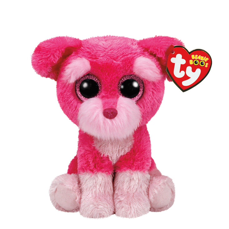 Ty Beanie Boo Small Cherry The Dog Soft Toy  59923b59994