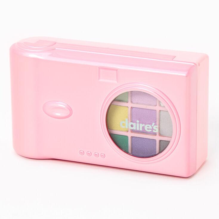 Palette compacte de maquillage appareil photo Claire'sClub - Rose,