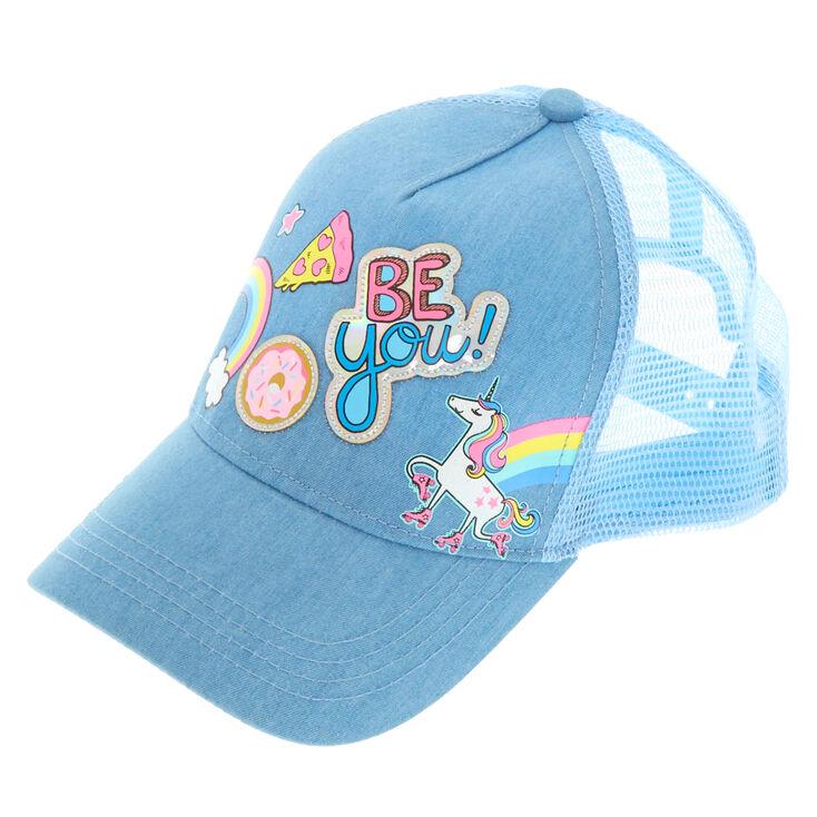 019565ab1 Unicorn Fun Fair Patch Baseball Cap