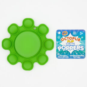 Octopus Flip Push Poppers Fidget Toy – Styles May Vary,