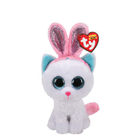 Ty® Beanie Boo Purr-ly the Easter Cat Plush Toy,