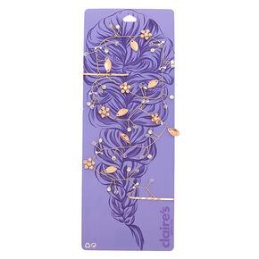 Rose Gold Floral Hair Vine,