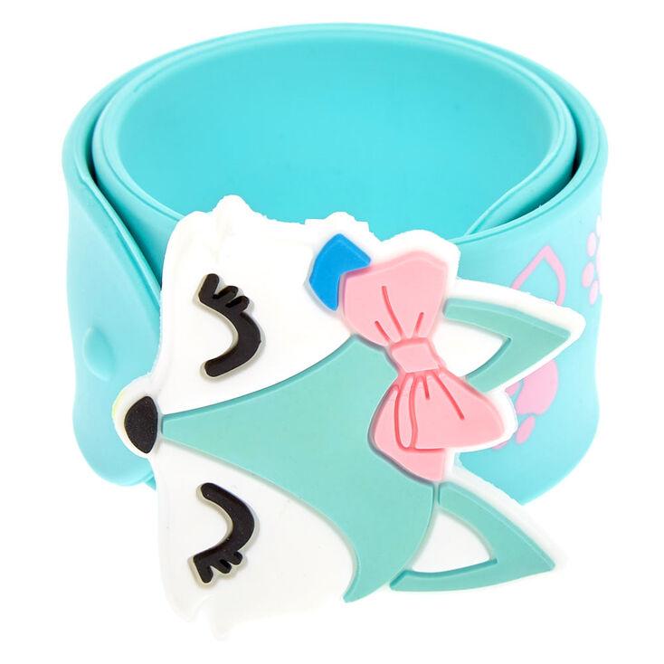 Bracelet enrouleur Trixie le renard vert menthe,