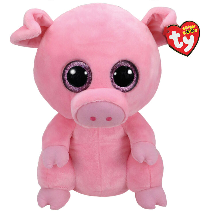 12ea531fc68 Ty Beanie Boo Large Posey the Pig Soft Toy