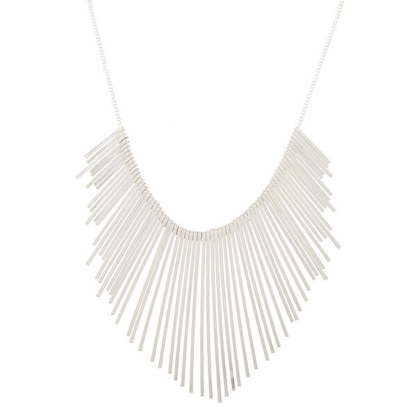 Claire's - bar bib statement necklace - 1