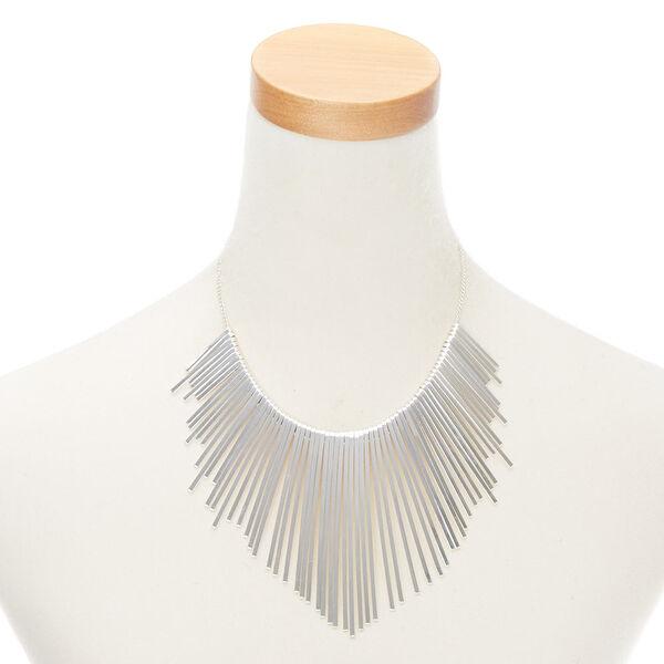 Claire's - bar bib statement necklace - 2