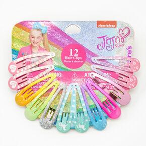 JoJo Siwa™ Rainbow Hair Clips - 12 Pack,