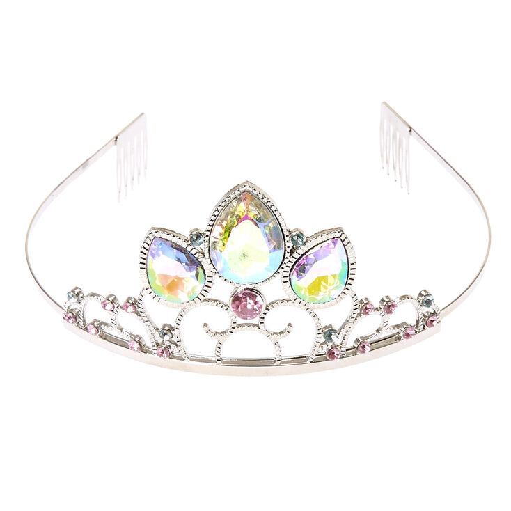 Claire's Club Silver Princess Tiara,