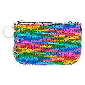 Rainbow Sequin Coin Purse,