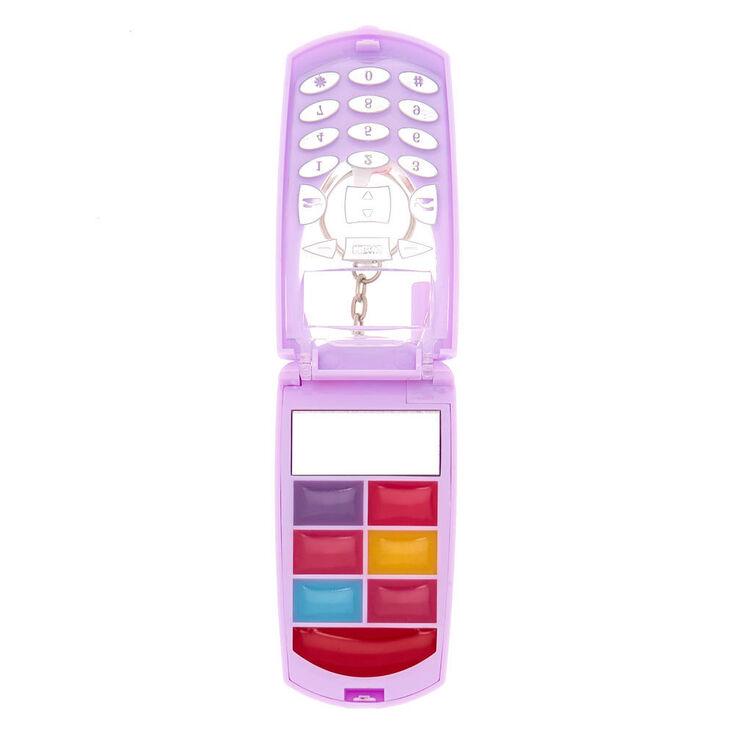 Unicorn Donut Bling Flip Phone Lip Gloss Set - Purple,