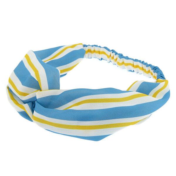 Claire's - stripe knot turban headwrap - 1